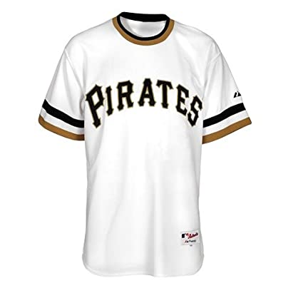 Image Unavailable. Image not available for. Color  Roberto Clemente  Pittsburgh Pirates Majestic Cooperstown Replica White Jersey a2fb552fd