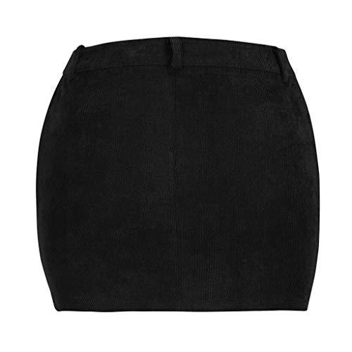 Jupe Mini Salopette Noir Velours Courte Côtelé À Zzzz Femme mini En Pour Transparente xBCoWQreEd
