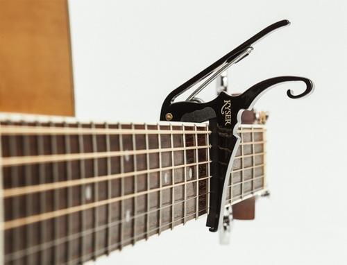 Kyser KG6B Capo pour guitare acoustique Noir