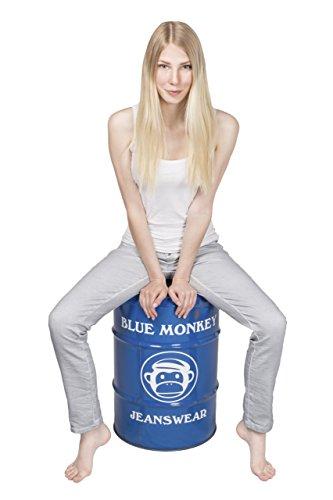 Blue Monkey Jeans - Vaqueros - Ajustada - Básico - para mujer Ice Blue