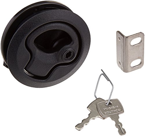 (Southco Inc M1-43 Flush Pull Latch .475 to .675 Panel Thickness, Locking)