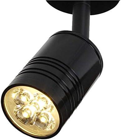 Luz de Techo Proyector Black Iron Art Proyector montado en ...