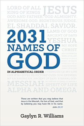 Names Of God In Alphabetical Order