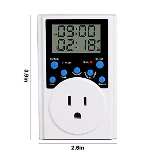 Alarm Digital Timer - 8