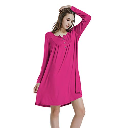 - Dresses for Womens,DaySeventh Women Autumn O Neck Casual Long Sleeve Above Knee Mini Dress Loose Party Dress