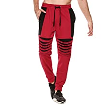 COOFANDY Men's Joggers Pants Hipster Hip Hop Casual Fitness Sweatpants with Pockets