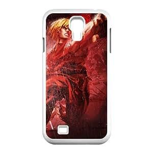 Samsung Galaxy S4 9500 White phone case Street Fighter Ken Cool gift SFB9103849