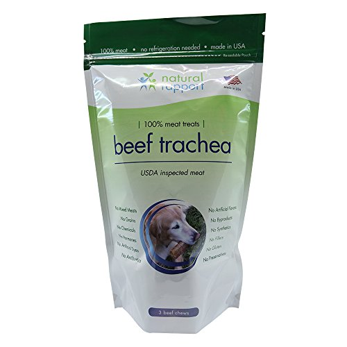 Natural Rapport Dog Treats for Small and Large Dogs, Dog Training Treats, Grain-Free Dog Treats, Beef Trachea Dog Snacks, Dog Chews with USDA-Inspected Meat
