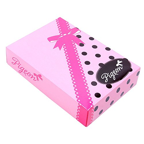 PIGEON Lingerie hochwertiger und trendiger Schlafanzug Damen Pyjama Hausanzug aus langer Hose und Kurze Ärmeln in Geschenkbox (P-536/2)