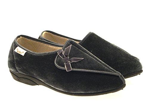 Dr Keller - Zapatillas de estar por casa de sintético para niña blue/grey/navy blue/pink/rose gris - gris