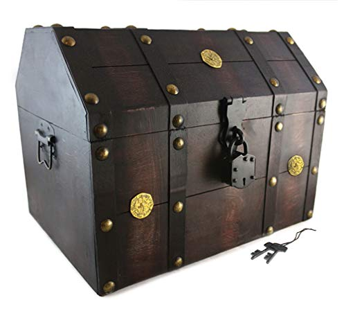 Well Pack Box Treasure Chest Pirate 16