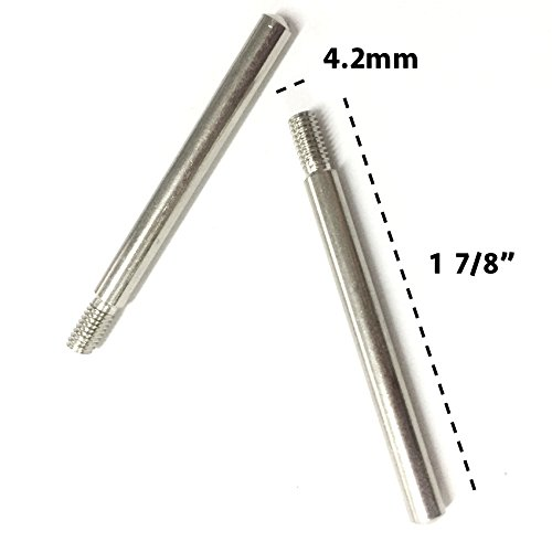 - 2 Pieces Fit Singer Kenmore Japanese Sewing Machine Metal Screw-in Drive-in Spool Pins Thread Holder Domestic Home Sewing Machine Spare Part