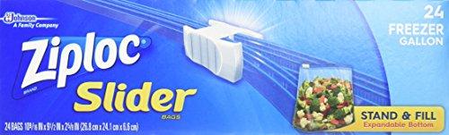 ziploc slider gallon freezer - 5