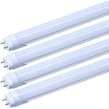 Jesled T8 4ft Led Tube Light 24w Dual Row Led Fluorescent