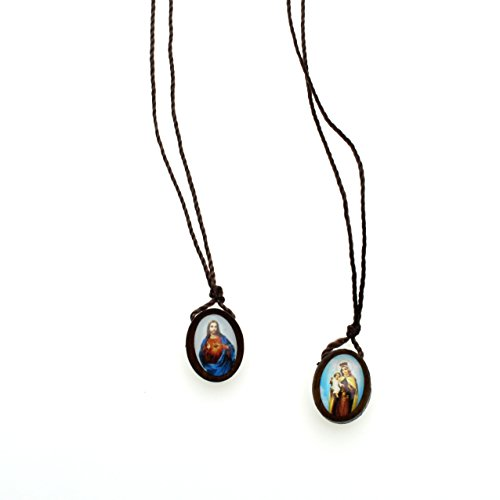 IntercessionTM Catholic Scapular (Traditional Brown - Small) ()