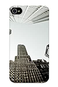 New Diy Design New York Buildings For Iphone 4/4s Cases Comfortable For Lovers And Friends For Christmas Gifts