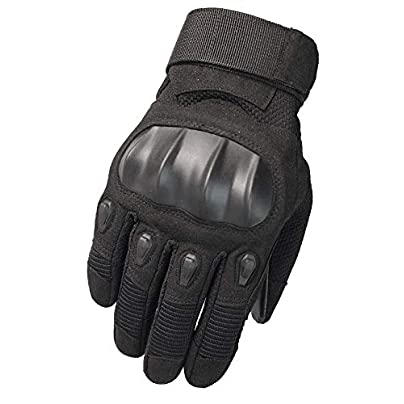 Cycling Touch Screen Gloves Outdoor Motorcycle Climbing Fight Windproof Wristband Winter Fitness Gloves Black Estimated Price £39.33 -