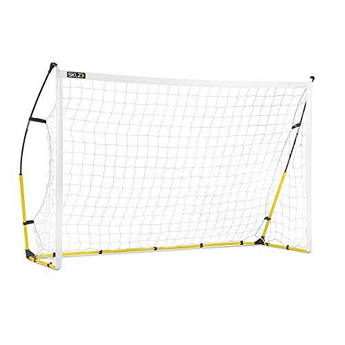 SKLZ Quickster Soccer Goal Portable Soccer Goal and Net, 8 x 5 Feet