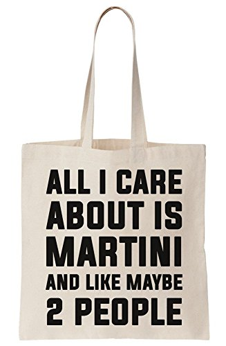 I Bag About And 2 Martini Tote Canvas Is Care Like All Maybe People Bnxdd