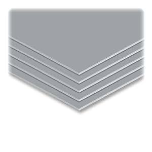 ELMERS Colored Foam Board, 20 X30, 10 Boards/Carton, Graystone (951037)