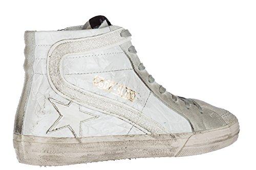 in Sneakers Slide Bianco Scarpe Goose Golden Alte Pelle Donna Nuove Xw44EU
