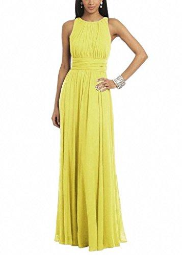Donna Beauty Ka Ka Vestito Yellow Beauty 0qpOfpI