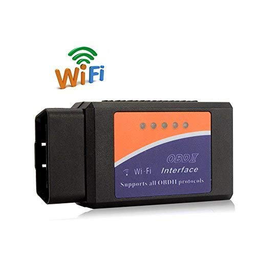 (PUMPKIN WiFi OBD2 Car Code Scan Tool, Diagnostic OBDII Scanner for Apple iOS, Android and Windows Device )