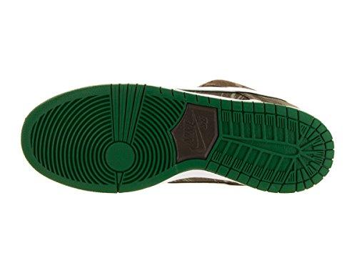 Zapatillas Nike Dunk Sb baja prima del patín Khaki/White/Pine Green