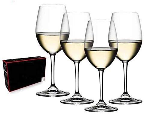Compra Juego de 4 Copas de Vino Blanco, Caja de Regalo de Copas de ...