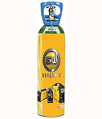 Easy Weld - Botella de gas Argón + CO2 - Atal 5 de 2.3 m3 sin contrato: Amazon.es: Bricolaje y herramientas