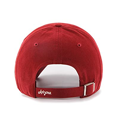MLB Arizona Diamondbacks Women's Sparkle Clean Up Adjustable Hat, Razor Red