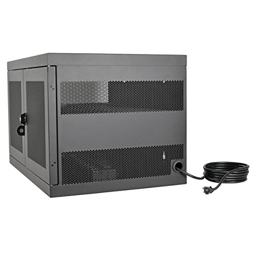 Tripp Lite 16-Port AC Charging Storage Station Cabinet for Chromebooks, Laptops & Tablets, 17'' Depth, Wall Mount & Cart Options (CSC16AC) by Tripp Lite (Image #5)