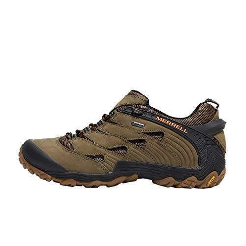 Hiking GTX Shoes 7 Walking Merrell Mens Chameleon Grã¼n Waterproof wqHFYtv