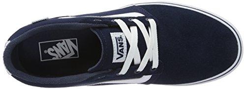 Furgoni Herren Mn Chapman Striscia Sneaker Blau (camoscio / Tela)