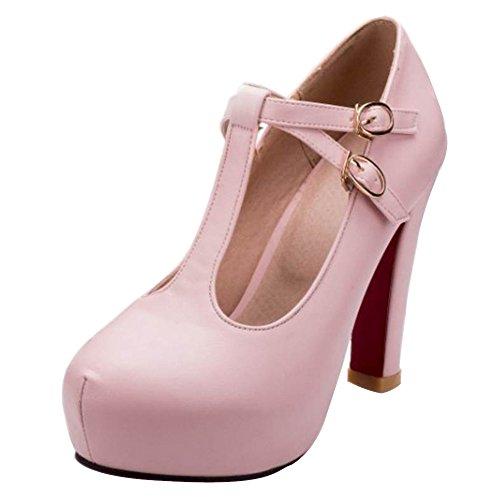 femmes pour Chaussures à talons hauts Rose Eleemee Fashion q6OpnS6