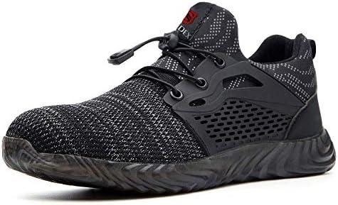 SUADEX Steel Toe Shoes for Women Men