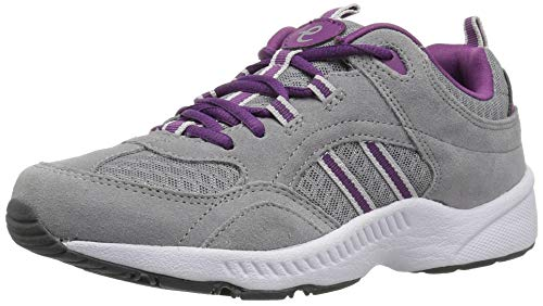 - Easy Spirit Women's Rockie Sneaker, Grey, 8 M US