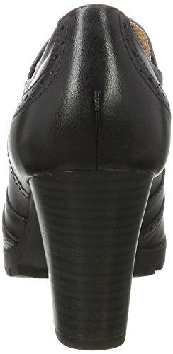Mujer Tacones Black Negro Caprice 24700 Nappa xBavfWEH