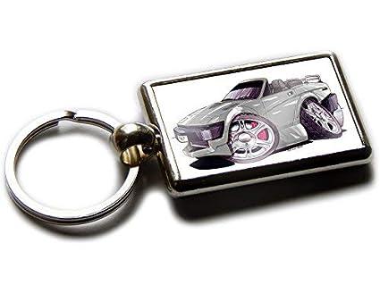Koolart Triumph TR7 Cabriolet - Llavero Cromado en Ambos ...