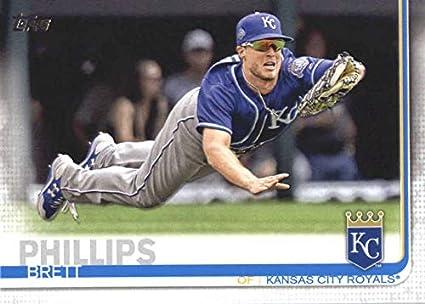 Amazoncom 2019 Topps 195 Brett Phillips Kansas City