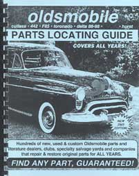 Find ANY Oldsmobile Part with this Parts Locating Guide ()