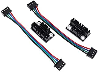 Zamtac 4pcs/2sets Dual z Stepper Motor Adapter Parallel Module Stepping Motor Diverter Expanding Flow Board Diffuser Spreader Splitter