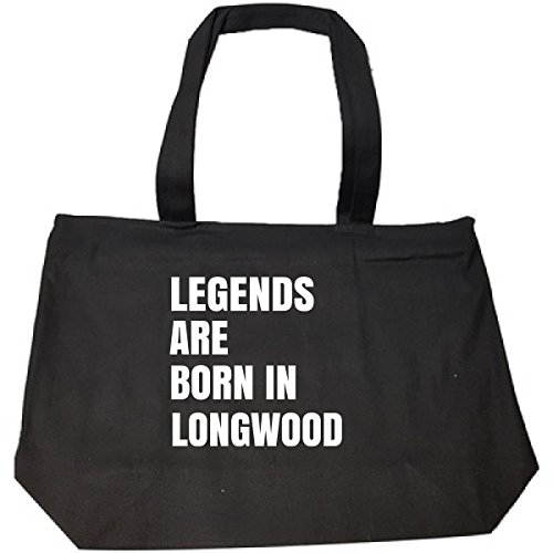 Longwood Handle (Legends Are Born In Longwood Cool Gift - Tote Bag With Zip)