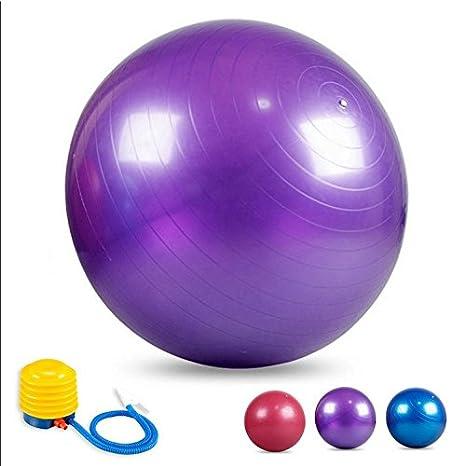Yoga pelota 55/65/75 cm gimnasia Pilates Fitness ejercicio de ...