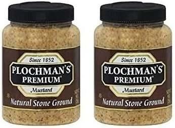 Mustard: Plochman's Stone Ground