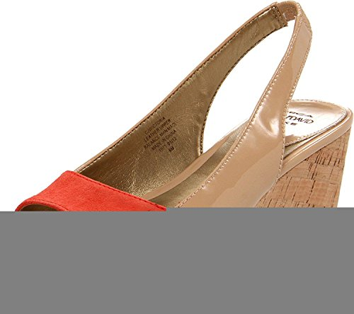 Circa Joan David Sandals (Circa Joan & David Women's Wictoria Platform Sandal,Nude/Poppy,9.5 M US)