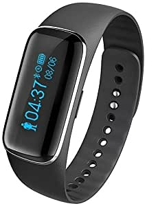 Para Vestir - para - Smartphone - Fitband Reloj elegante - Bluetooth 4.0Seguimiento de Actividad/Seguimiento del Sueño/Monitor de Pulso , black-ios