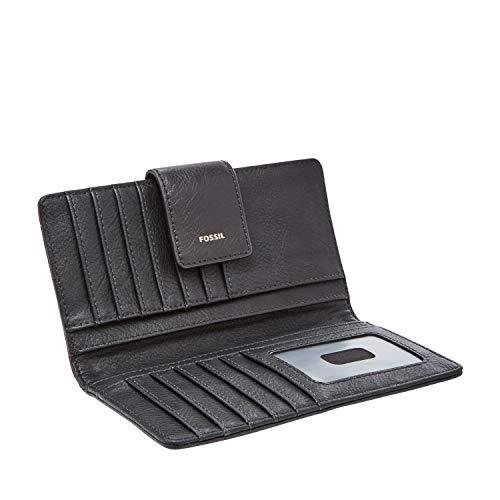 Fossil Logan RFID Tab Wallet, black by Fossil (Image #1)