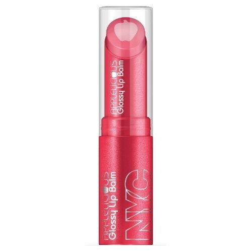 (3 Pack) NYC Applelicious Glossy Lip Balm - Pink Lady