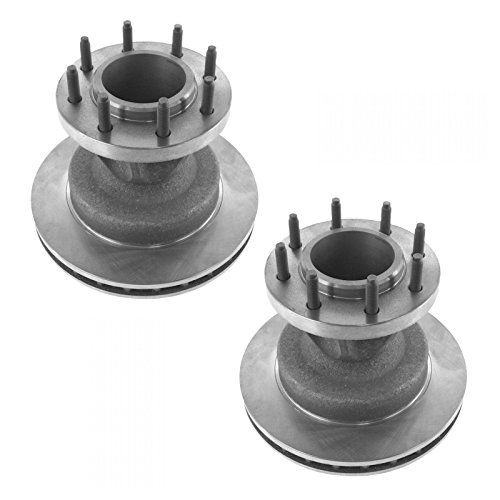 Brake Rotor Front Driver & Passenger Side Pair Set of 2 for Ford F350